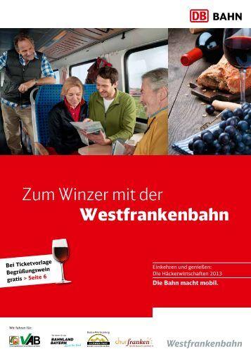 Die Häckerwirtschaften 2013 - Bahn.de