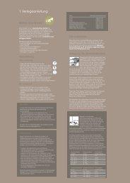 1. Verlegeanleitung - Balterio Laminate Flooring