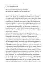 Redemanuskript - Historische Gesellschaft der Deutschen Bank e.V.
