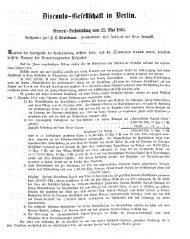 ©eneral^crfommlung üora 23, mi 1864.