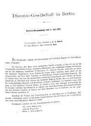 Disconto-Gesellschaft in Berlin. - Historische Gesellschaft der ...