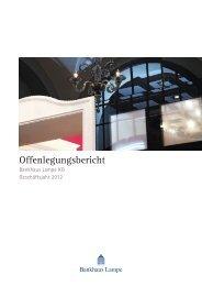 Offenlegungsbericht 2012 - Bankhaus Lampe