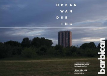 Download programme brochure - Barbican