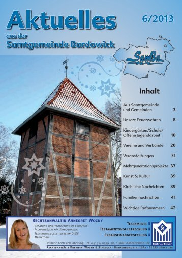 Ausgabe 06/2013 - Bardowick