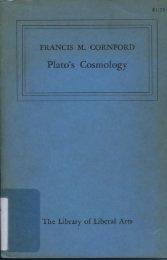 Plato's Cosmology - Bard College