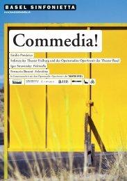 Commedia! - Basel Sinfonietta