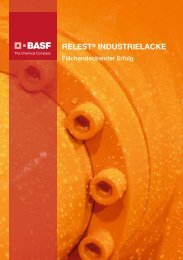 RELEST® INDUSTRIELACKE - BASF Coatings