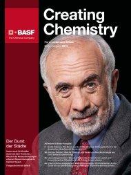 BASF-Magazin Creating Chemistry, dritte Ausgabe - BASF.com