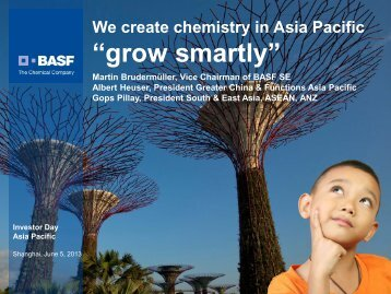 BASF Investor Day Asia Pacific 2013 - BASF.com