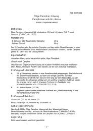 Ölige Campher-Lösung Camphorae solutio oleosa Definition ...
