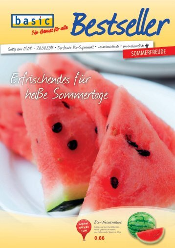 Erfrischendes für heiße Sommertage - Basic