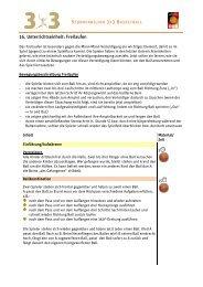 16. Unterrichtseinheit: Freilaufen - Deutscher Basketball Bund