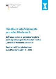 Handbuch Schutzkonzepte sexueller Missbrauch - Kein Raum für ...