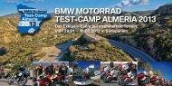BMW MOTORRAD Test-Camp Almeria 2013