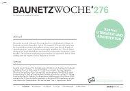 Literatur und Architektur - BauNetz