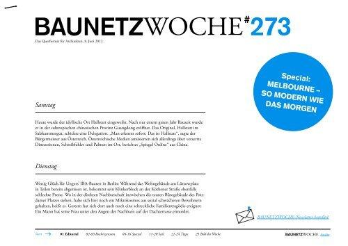 BAUNETZWOCHE#273
