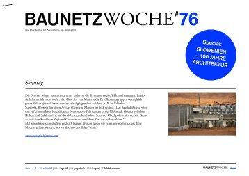 BAUNETZWOCHE#76