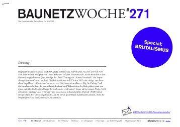 BauNetzWoche# 271 – Beyond Style – Brutalismus zwischen ...
