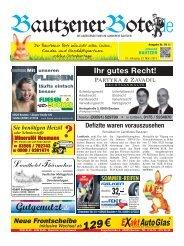 23.März 2013 (12.KW) - BautzenerBote.de
