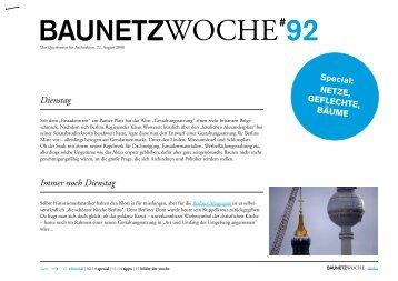 BAUNETZWOCHE#92
