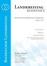 Ausgabe Nr. 2 / 2013 - Bayerischer Landkreistag