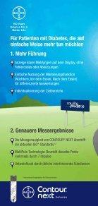 deutsch (0.7 MB) - Bayer Diabetes Care Schweiz - Page 2