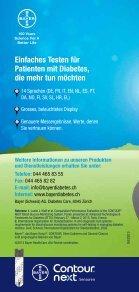 deutsch (0.7 MB) - Bayer Diabetes Care Schweiz - Page 4