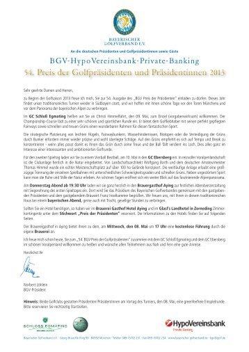 BGV-HypoVereinsbank-Private-Banking - Bayerischer Golfverband