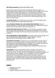 IUF-Könnensstufen Achievement Skill Levels - Bayerischer ...