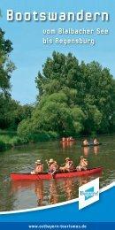 Bootswandern - Naturpark Oberer Bayerischer Wald