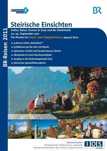 Steirische Einsichten - Bayern 1 Radioclub