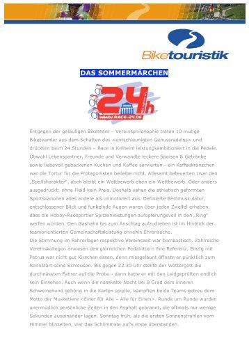 Das Sommermärchen, Biketeam Regensburg - Bayernbike