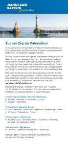 Mit Rad und Bahn durch Bayern - Bayerwald Ticket - Seite 2