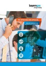 PDF Download Geschäftsbericht 2012 - Bayerngas Energy Trading ...