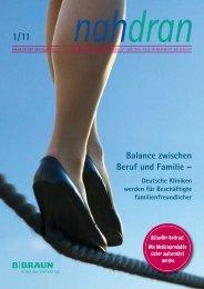 181. Balance zwischen Beruf und Familie - B. Braun Melsungen AG