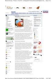 Page 1 of 2 Mensch & Gene - Wissen - FAZ.NET - Schlaganfall ...