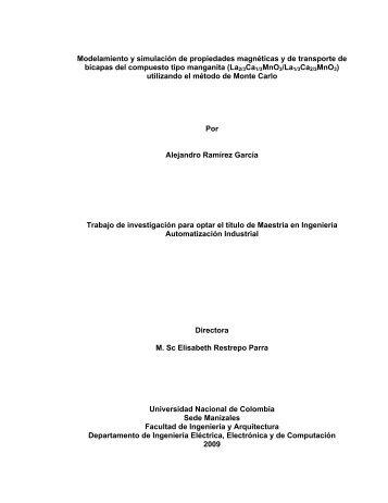 Modelamiento y simulación de propiedades magnéticas y de ...