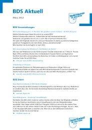 Aktuell« Ausgabe 03 / 2013 vom März 2013 - Bund der ...