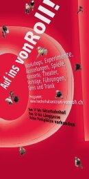Programmheft: Tag der offenen Tür - Kanton Bern