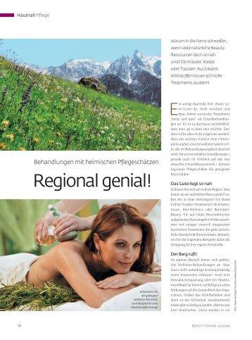 Regional genial! - Beauty Forum