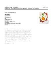Rezept für Sunny Side PUSH-UP - Beef