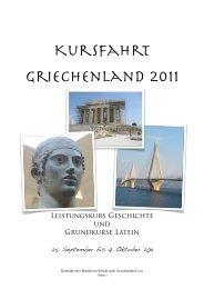 Kursfahrt Griechenland 2011 - Beethoven-Schule