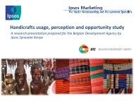Handicrafts usage, perception and opportunity study - Trade for ...