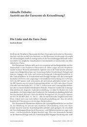 Aktuelle Debatte : Austritt aus der Eurozone als ... - Beigewum