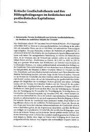 Kritische Gesellschaftstheorie und ihre ... - Beigewum