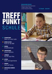Treffpunkt Schule April 2013 - Beinwil am See