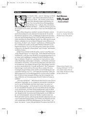 Willy Brandt - Beirat für Geschichte