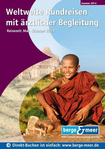 Katalog Sommer 2014 - Berge & Meer