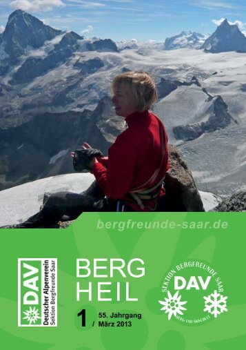 Berg Heil 1 / 2013 - Bergfreunde-Saar