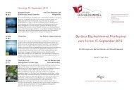 Berliner Bücherhimmel Filmfestival vom 14. bis 15. September 2013